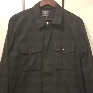 Abercrombie & Fitch Plaid Field Jacket Size Medium
